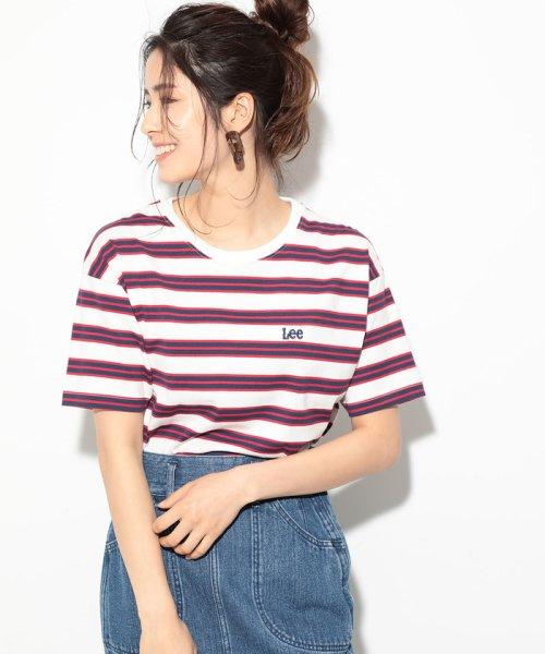 ViS(ビス)/【一部店舗限定】【Lee】ボーダーTシャツ/BVM79080_img17