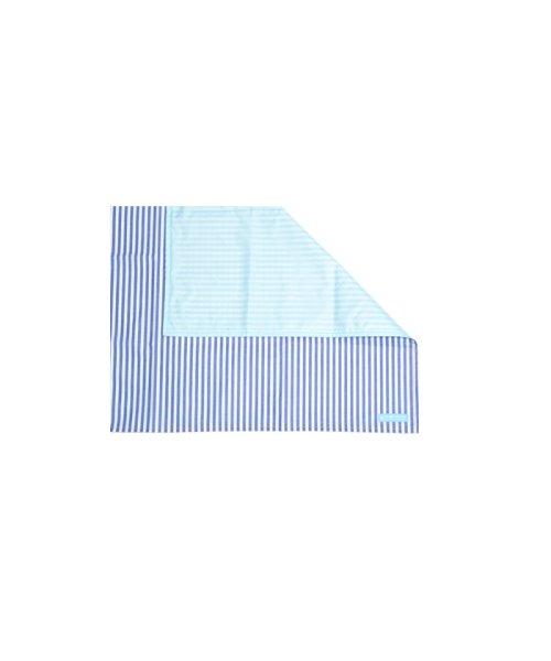 COLORFUL CANDY STYLE(カラフルキャンディスタイル)/レジャーシート ベーシックストライプ(綿100%)・青/N4807400_img03