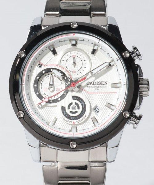SELECT(SELECT)/〈CADISEN/カディセン〉クロノグラフ 日付カレンダー C9063 腕時計/41881144_img01