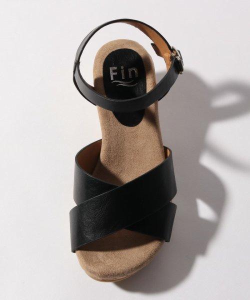 Fin(フィン)/クロスウエッジサンダル【低反発スポンジ入り】/192099332_img09