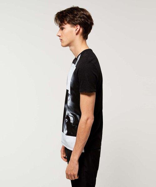 SISLEY(シスレー(メンズ))/スラブグラフィックプリント半袖Tシャツ・カットソー/19P3APUO12EI_img03