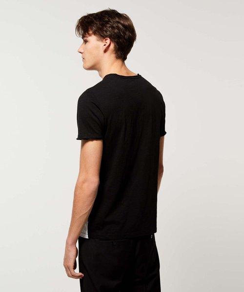 SISLEY(シスレー(メンズ))/スラブグラフィックプリント半袖Tシャツ・カットソー/19P3APUO12EI_img04