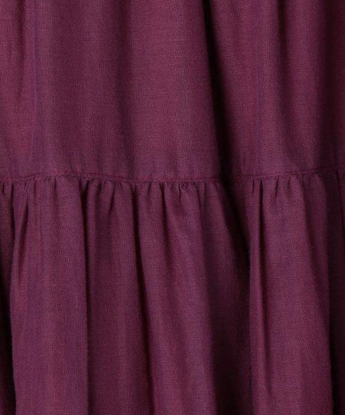 coen(コーエン)/【『リンネル』6月号掲載・2WAY】インディアンコットンリバーシブルスカート ( フレアスカート ティアードスカート )/76706039005_img33