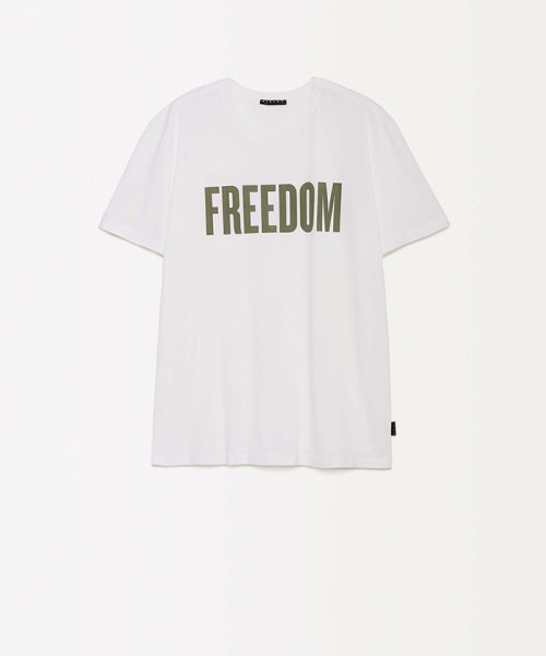 SISLEY(シスレー(メンズ))/オーガニックコットンプリント半袖Tシャツ・カットソー/19P3TM4O12F7_img01