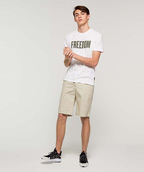 SISLEY(シスレー(メンズ))/オーガニックコットンプリント半袖Tシャツ・カットソー/19P3TM4O12F7_img02