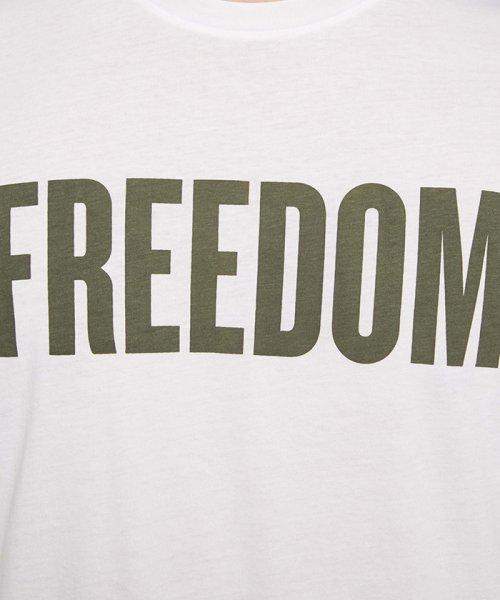 SISLEY(シスレー(メンズ))/オーガニックコットンプリント半袖Tシャツ・カットソー/19P3TM4O12F7_img06