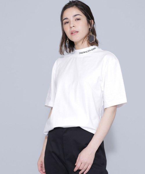 nano・universe(ナノ・ユニバース)/Calvin Klein Jeans/ON THE NECK TEE/6719124060_img01