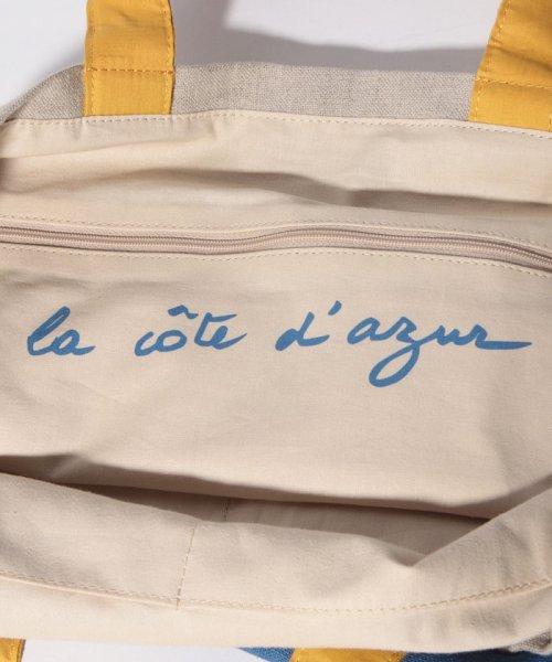 agnes b. Voyage(アニエスベー ボヤージュ)/MX01-01 Cote de France トートバッグ/N381VB15E19_img07