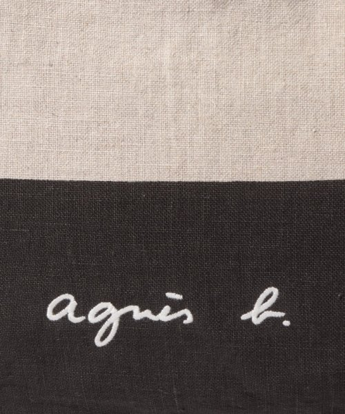 agnes b. Voyage(アニエスベー ボヤージュ)/MX01-01 Cote de France トートバッグ/N381VB15E19_img05