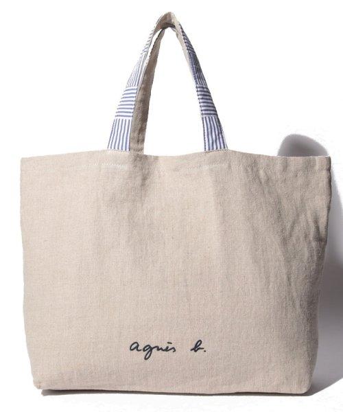 agnes b. Voyage(アニエスベー ボヤージュ)/MX01-01 Cote de France トートバッグ/N381VB15E19_img15