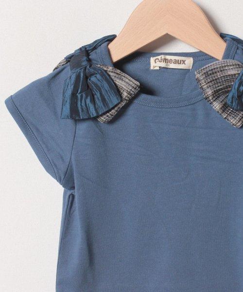 Gemeaux(ジェモー)/肩リボンTシャツ/GA8383_img02