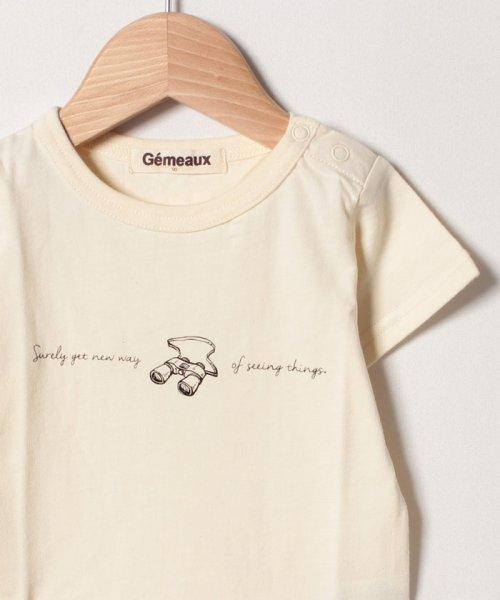 Gemeaux(ジェモー)/双眼鏡プリントTシャツ/GA8374_img02