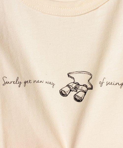 Gemeaux(ジェモー)/双眼鏡プリントTシャツ/GA8374_img04