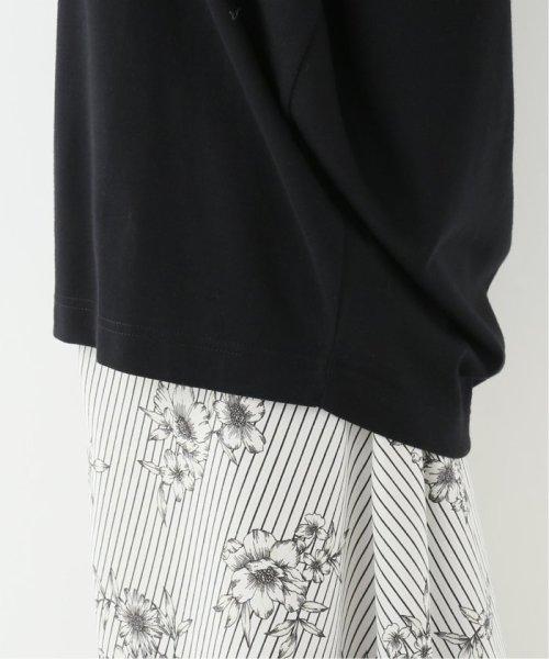 IENA(イエナ)/g. Nano-J finishing jersey stitch Tシャツ/19070910007210_img12