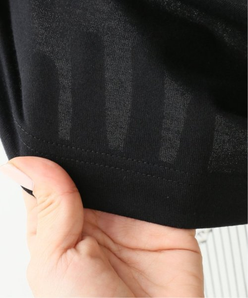 IENA(イエナ)/g. Nano-J finishing jersey stitch Tシャツ/19070910007210_img13