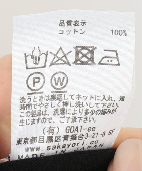 IENA(イエナ)/g. Nano-J finishing jersey stitch Tシャツ/19070910007210_img15