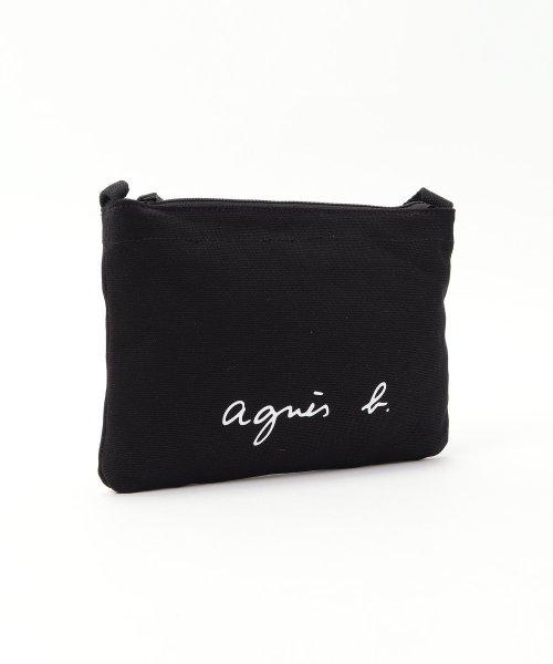 agnes b. Voyage(アニエスベー ボヤージュ)/【WEB限定】GO03-07 ロゴサコッシュ/N483VSA9_img02