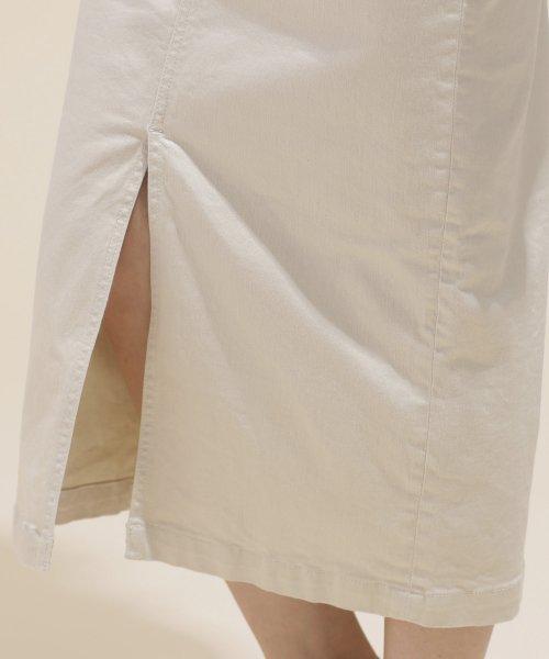 nano・universe(ナノ・ユニバース)/I-line slim fit skirt/6699130009_img15
