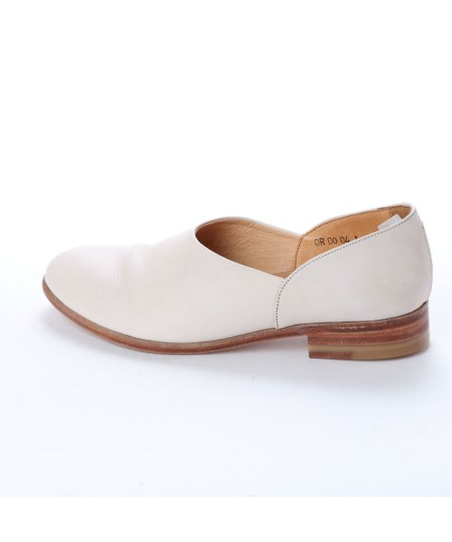 DIGOUT(ディガウト)/ディガウト DIGOUT CHET (Washed Side Slit Shoes) (WHITE)/DI4937BU00023_img01