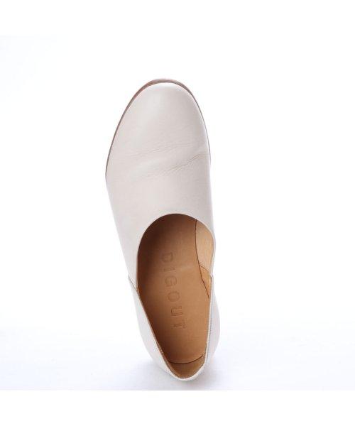 DIGOUT(ディガウト)/ディガウト DIGOUT CHET (Washed Side Slit Shoes) (WHITE)/DI4937BU00023_img03