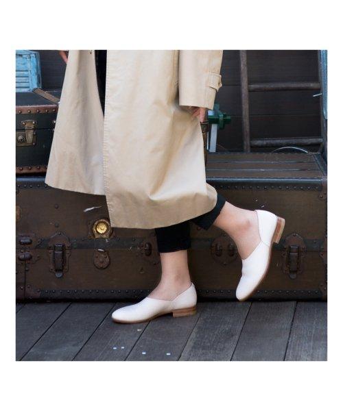 DIGOUT(ディガウト)/ディガウト DIGOUT CHET (Washed Side Slit Shoes) (WHITE)/DI4937BU00023_img05