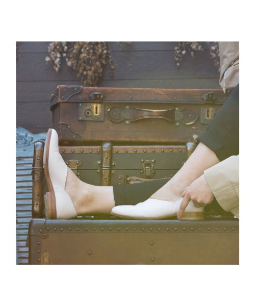 DIGOUT(ディガウト)/ディガウト DIGOUT CHET (Washed Side Slit Shoes) (WHITE)/DI4937BU00023_img06