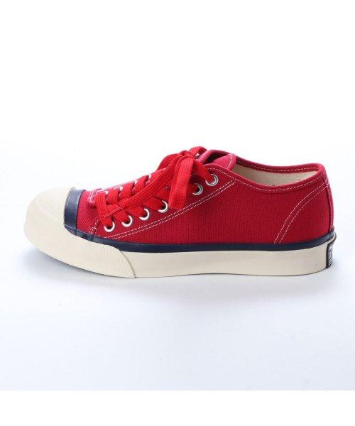 DIGOUT(ディガウト)/ディガウト DIGOUT DEAN (Low-Top Vulcanized Sneakers) (RED)/DI4937BU00033_img01