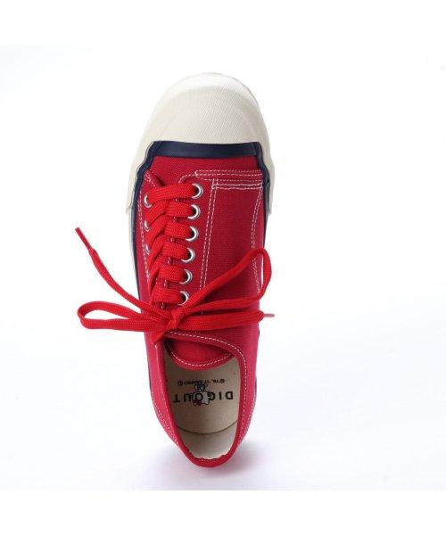 DIGOUT(ディガウト)/ディガウト DIGOUT DEAN (Low-Top Vulcanized Sneakers) (RED)/DI4937BU00033_img03
