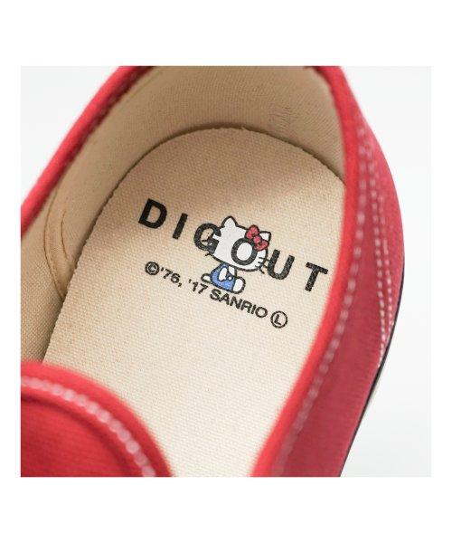 DIGOUT(ディガウト)/ディガウト DIGOUT DEAN (Low-Top Vulcanized Sneakers) (RED)/DI4937BU00033_img06