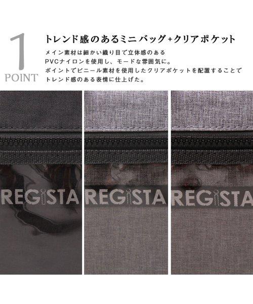 REGiSTA(レジスタ)/クリアポケットミニショルダーバッグ/縦型/サコッシュ/588_img02