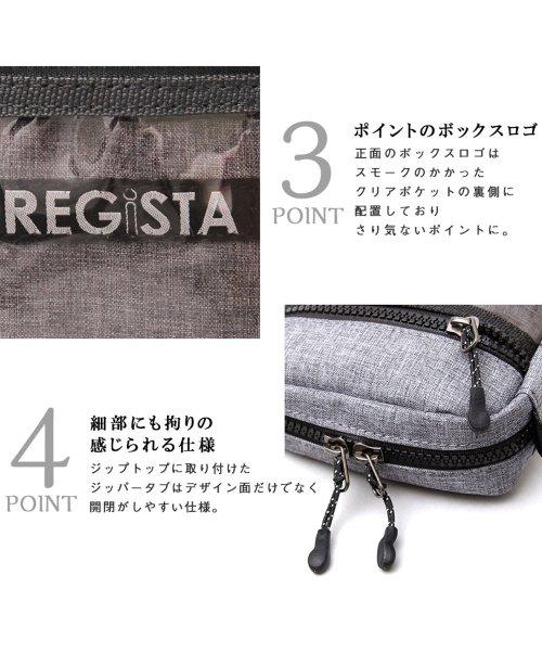 REGiSTA(レジスタ)/クリアポケットミニショルダーバッグ/縦型/サコッシュ/588_img04