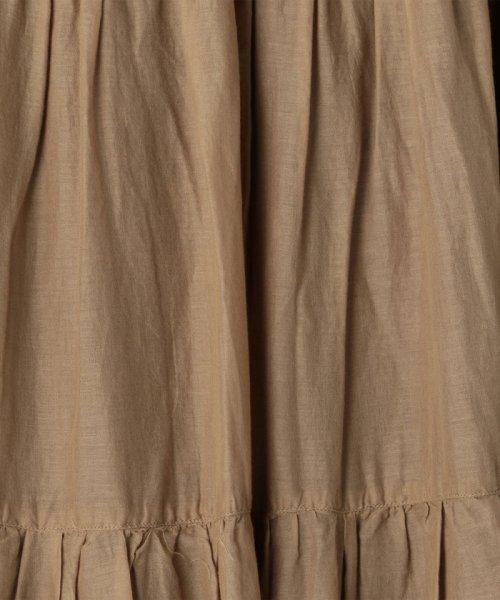 coen(コーエン)/【『リンネル』6月号掲載・2WAY】インディアンコットンリバーシブルスカート ( フレアスカート ティアードスカート )/76706039005_img37