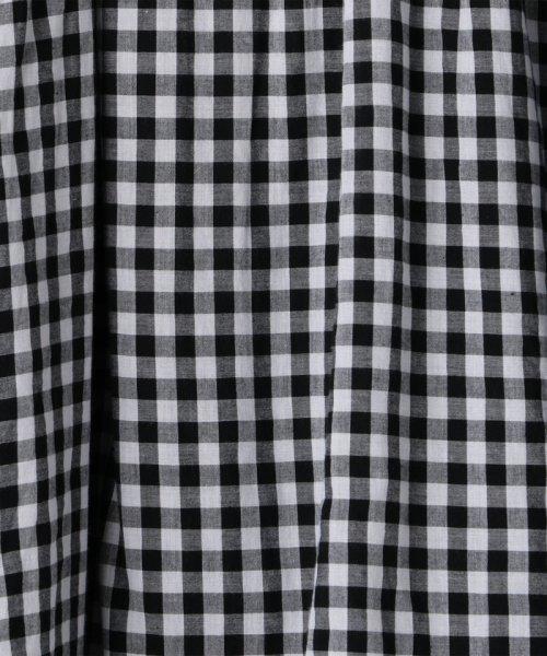 coen(コーエン)/【『リンネル』6月号掲載・2WAY】インディアンコットンリバーシブルスカート ( フレアスカート ティアードスカート )/76706039005_img39