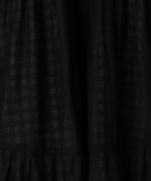 coen(コーエン)/【『リンネル』6月号掲載・2WAY】インディアンコットンリバーシブルスカート ( フレアスカート ティアードスカート )/76706039005_img41
