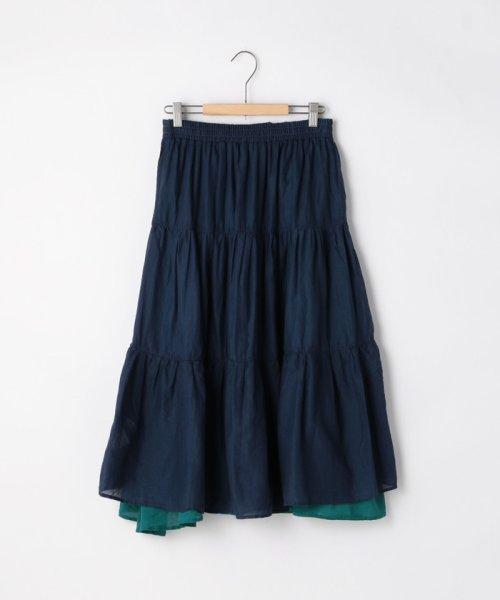 coen(コーエン)/【『リンネル』6月号掲載・2WAY】インディアンコットンリバーシブルスカート ( フレアスカート ティアードスカート )/76706039005_img44