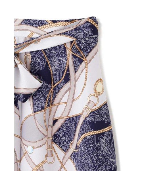 PROPORTION BODY DRESSING(プロポーション ボディドレッシング)/スカーフプリントイレヘムスカート/1219120906_img13