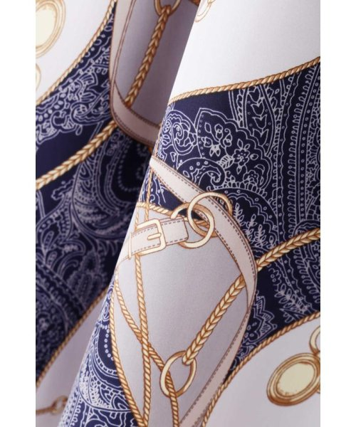 PROPORTION BODY DRESSING(プロポーション ボディドレッシング)/スカーフプリントイレヘムスカート/1219120906_img16