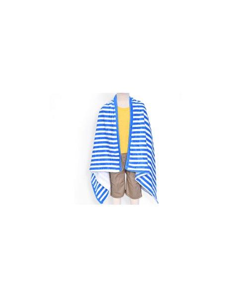 COLORFUL CANDY STYLE(カラフルキャンディスタイル)/プールタオル 平面 ビーチパラソルストライプ/N4951100_img02