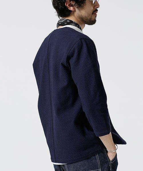 nano・universe(ナノ・ユニバース)/リンクスジャガード着流しジャケット/6689116020_img01