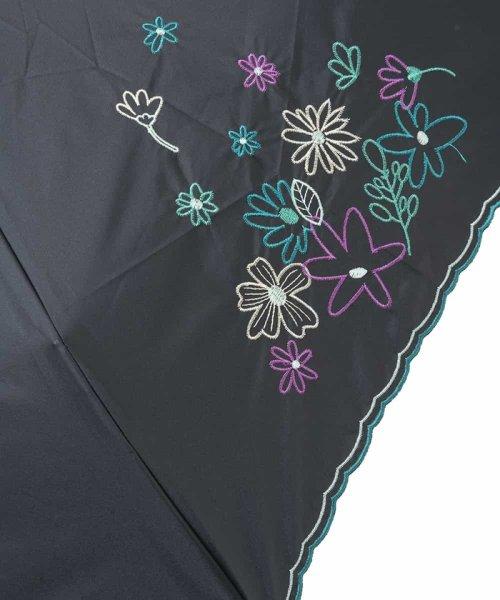 Jocomomola(ホコモモラ)/【晴雨兼用】フラワー刺繍折りたたみ傘/GG8FG04085_img05