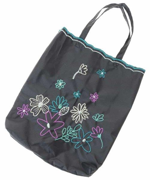 Jocomomola(ホコモモラ)/【晴雨兼用】フラワー刺繍折りたたみ傘/GG8FG04085_img09