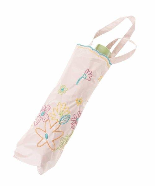 Jocomomola(ホコモモラ)/【晴雨兼用】フラワー刺繍折りたたみ傘/GG8FG04085_img11