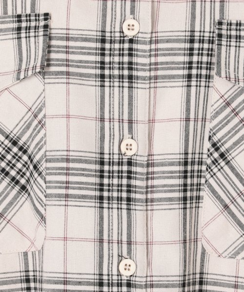 archives(アルシーヴ)/T/RチェックBIGシャツ/191162103022_img10