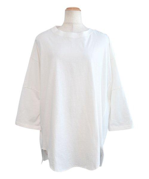 ANDJ(ANDJ(アンドジェイ))/ビッグシルエット変形Tシャツ /tt75x04276_img15
