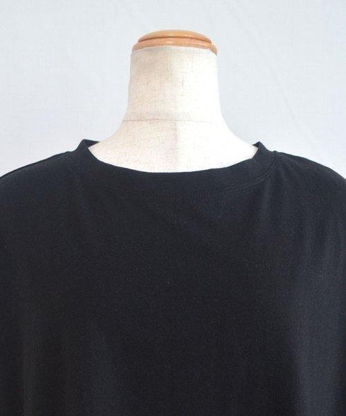 ANDJ(ANDJ(アンドジェイ))/ビッグシルエット変形Tシャツ /tt75x04276_img18