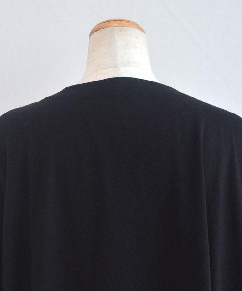 ANDJ(ANDJ(アンドジェイ))/ビッグシルエット変形Tシャツ /tt75x04276_img19