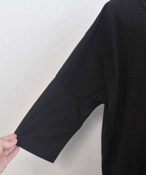 ANDJ(ANDJ(アンドジェイ))/ビッグシルエット変形Tシャツ /tt75x04276_img20