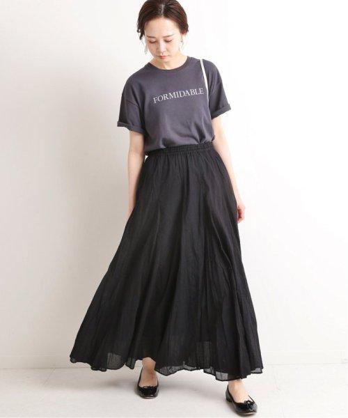IENA(イエナ)/《予約》コットンボイルギャザーパネルスカート◆/19060900900020_img02