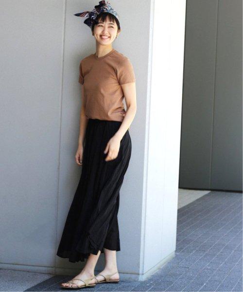 IENA(イエナ)/《予約》コットンボイルギャザーパネルスカート◆/19060900900020_img04