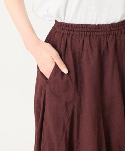 IENA(イエナ)/《予約》コットンボイルギャザーパネルスカート◆/19060900900020_img15